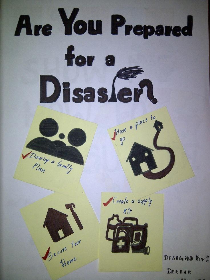 poster on disaster management   Hobbying   Pinterest   Poster
