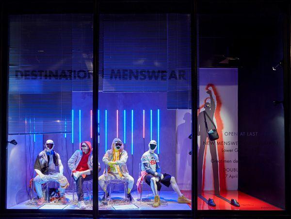 Harvey Nichols - Destination menswear - Retail Focus - Retail Blog For Interior Design and Visual Merchandising