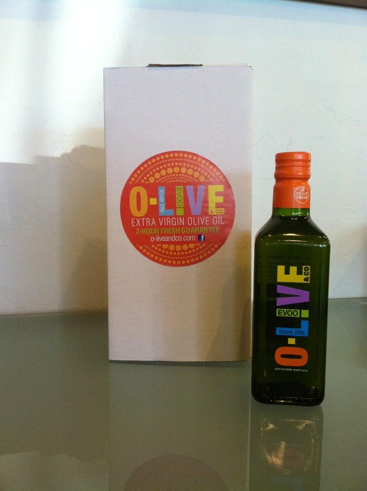 O-Live Extra Virgin #OliveOil!