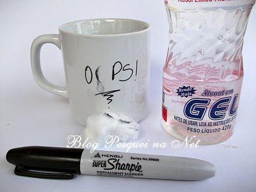 como pintar canecas com canetas sharpie, como pintar pratos e louças com canetas sahrpie                                                                                                                                                                                 Mais