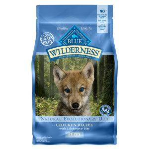 BLUE Wilderness® Puppy Food - Grain Free, Natural, Chicken   Dry Food   PetSmart