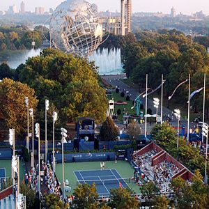 US Open Tennis Flushing Meadow | One of my favorite views in the tennis center