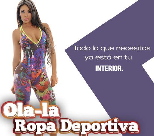 Todo lo que necesitas ya está en tu interior.  http://www.ola-laropadeportiva.com/enterizos/87-enterizo-deportivo-estampado-en-pinceladas-comodo-y-sexy.html  Contáctanos por Watsapp al 318 8278826 Cali, Colombia.  #Enterizo #Estampados #Cómodos #Sexy #Colombia