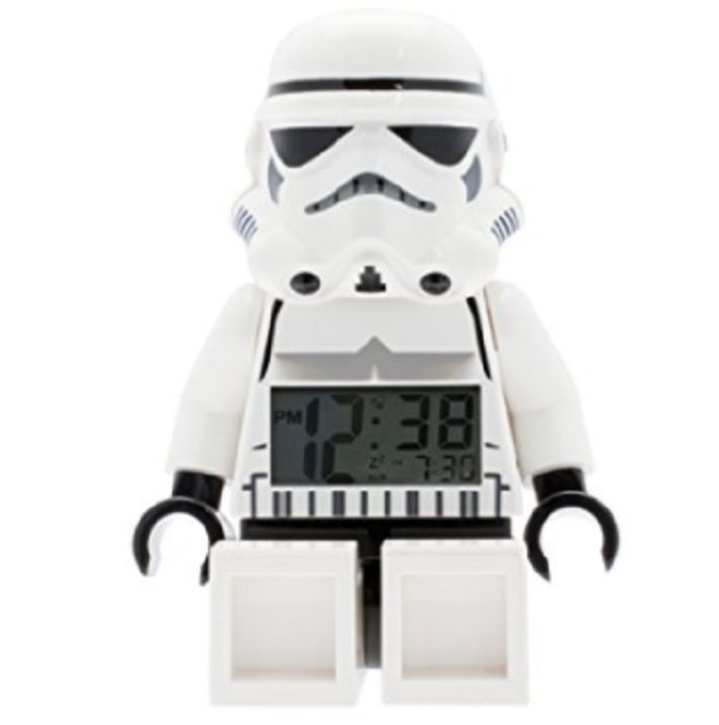LEGO Star Wars Stormtrooper Alarm Clock -- #gift #giftidea #gadget #family #home #geeky