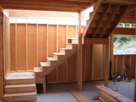 L Shaped Stair Opening Floor Joist Framing Google Search