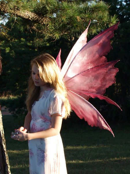 PATTERN and tutorial for fairy wings Rhea by enchantedcostumes