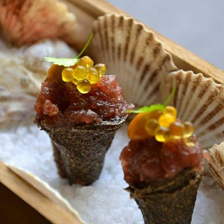 #saborestapas #Sabores #tapas #tuna #tartar