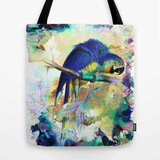 Parrot Bird - TOTE BAG