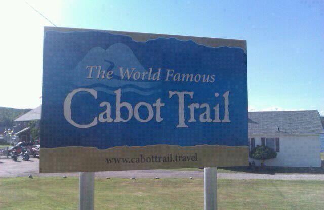 Beautiful Cabot Trail, Nova Scotia