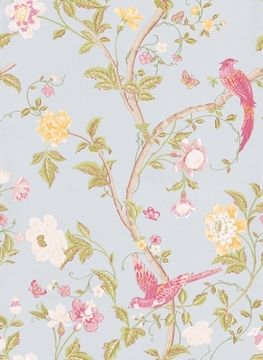 Laura Ashley wallpaper Summer Palace Duck Egg on shopstyle.com.au
