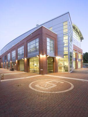 North Carolina State University - Carmichael Gymnasium  Location: Charlotte, North Carolina Check us out at www.clarkpattersonlee.com