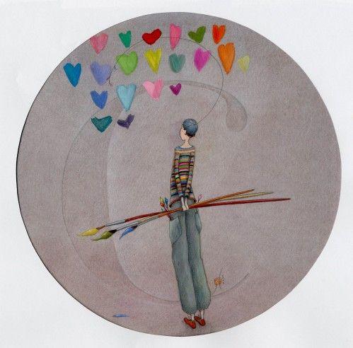 pintor de corazones