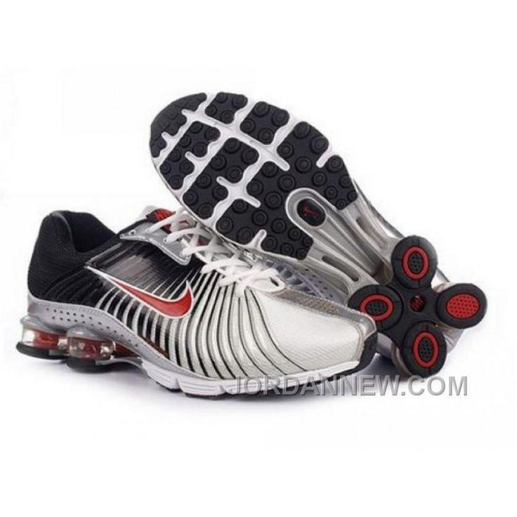 Men's Nike Shox R4 Shoes White/Black/Red Top Deals, Price: $79.10 - Air Jordan Shoes, Michael Jordan Shoes - JordanNew.com