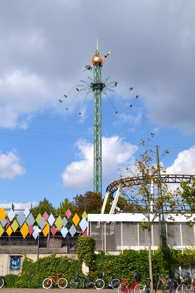 Tivoli amusement park in Copenhagen