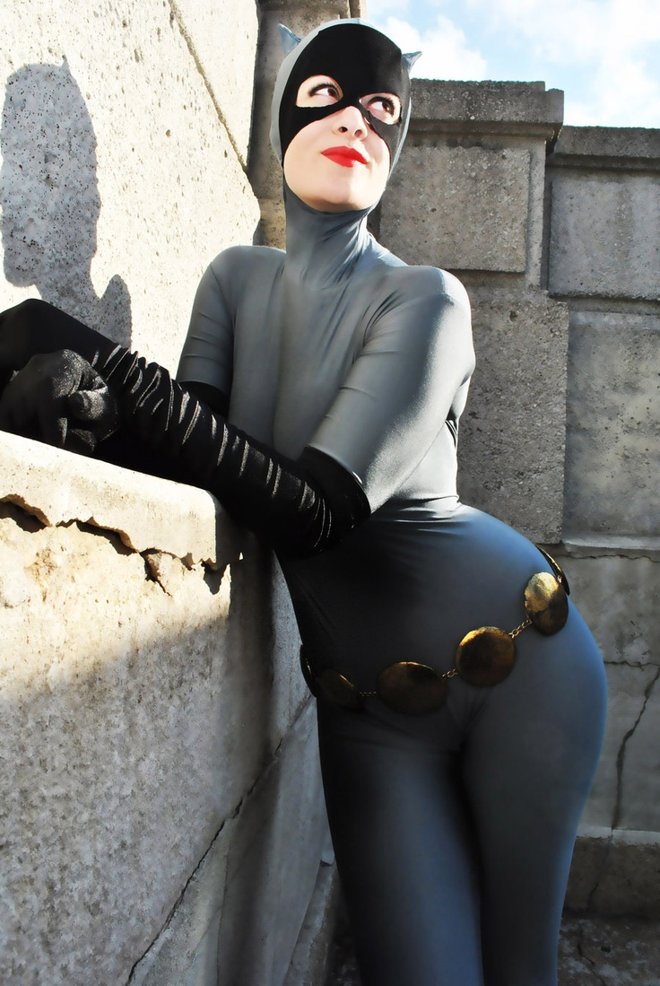 Mary Colette As Catwoman Batman Tas Style Cosplay And & Catwoman Costume Cosplay - Meningrey