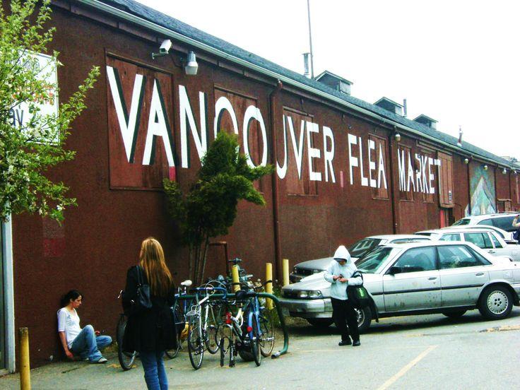 Vancouver flea market, British Columbia, Canada