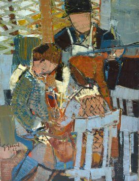 Gabriel Godard, Abstract Figures