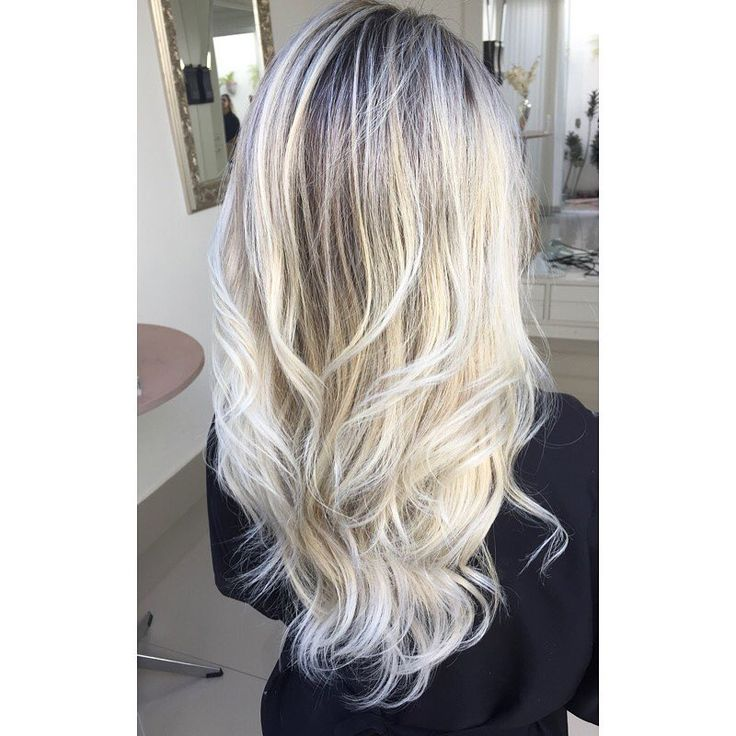 ice blonde highlights - Google Search