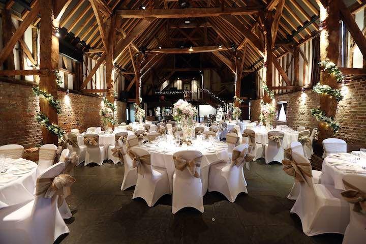 The Tithe Barn - Wedding Venue in Kent.