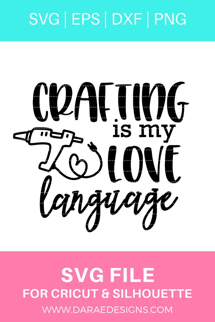 Download Crafting Is My Love Language   Craft quotes, Scrapbook ...