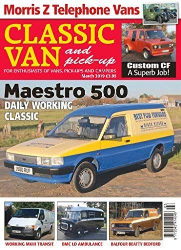 Classic Van & Pick-up in 2019 | Magazines | Vans, Magazine