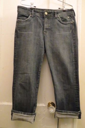 Kut From The Kloth Jeans 10 Cropped Croped Capris Stretch Denim Pants Stitch Fix