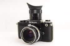 Nikon F2 35mm SLR Film Camera NIKKOR-H Auto 50mm f/2 LENS#s367