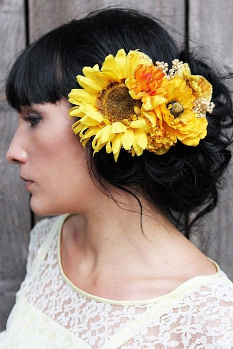 1000 Images About Hairstyles On Pinterest Sunflower