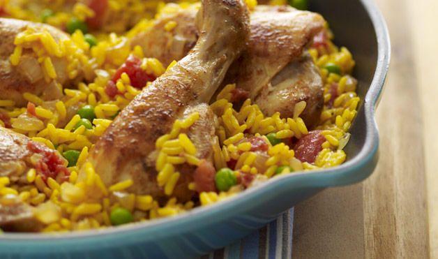 Csirkés rizottó a sütőből, finom étel és nagyon könnyen elkészül!