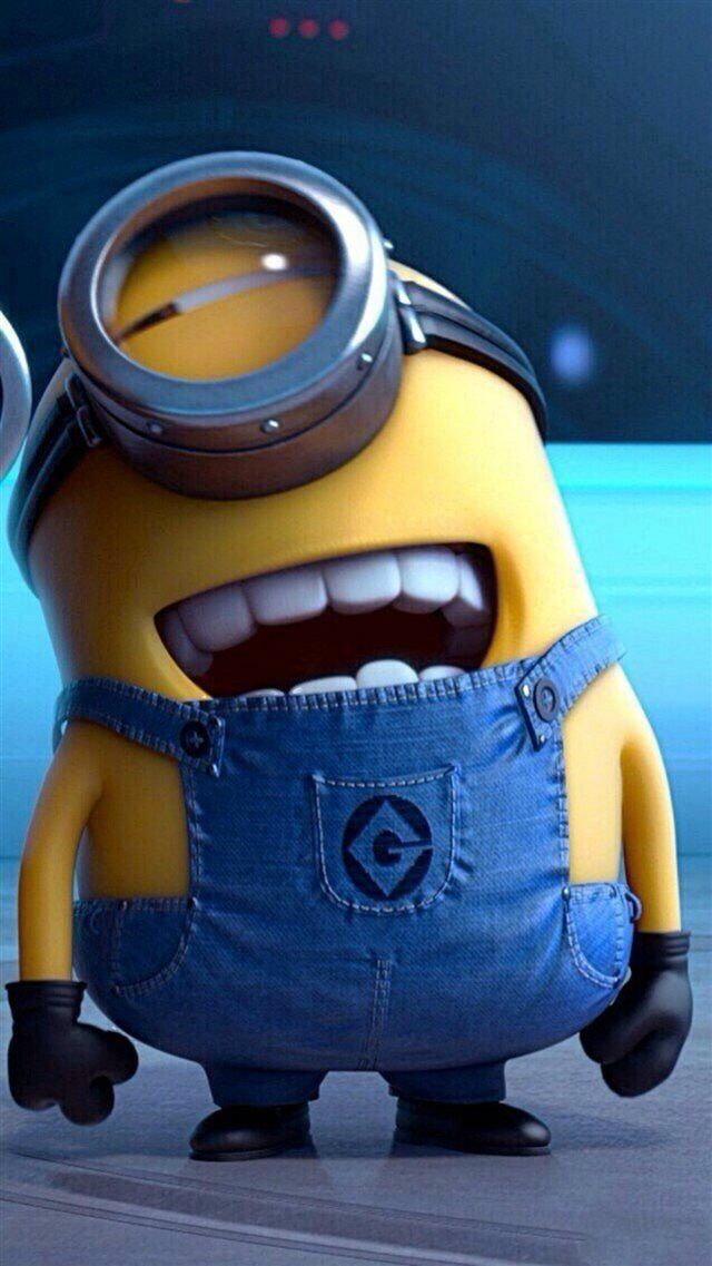 Funny Movie Cartoon Minion iPhone 8 Wallpaper Download   iPhone Wallpapers, iPad...