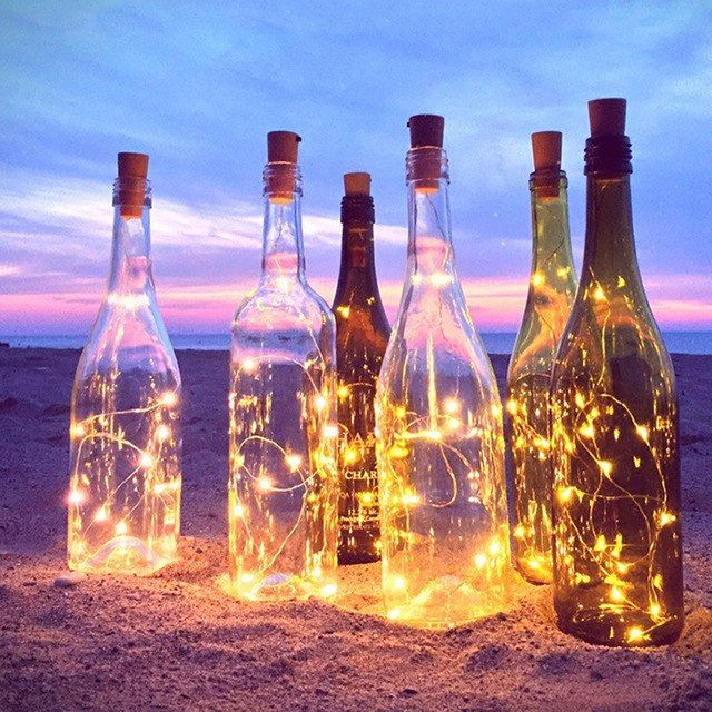 Pin By Elizabeth On I Saw The Light In 2020 Bottle Fairy Lights Bottle Lights Lighted Wine Bottles