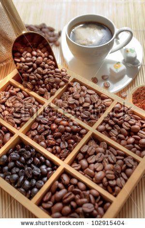 Roasted coffee beans -  true taste of kelantan coffee