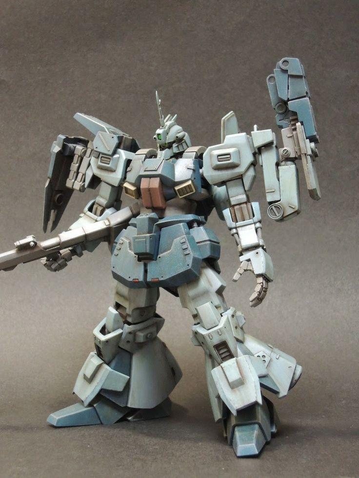 "HGUC 1/144 Rick Dias ""Dias Type J"" Custom Build - Gundam Kits Collection News and Reviews"