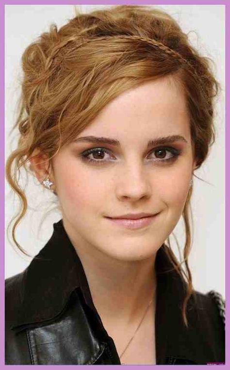 Emma Watson Frisuren Nette Geflochtene Frisur Für Langes
