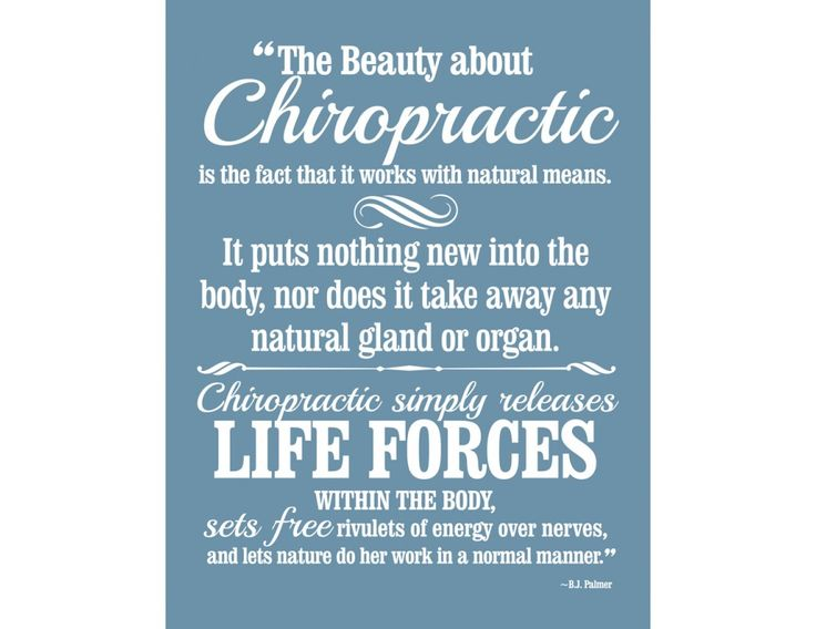 the beauty about chiropractic decal 22 x 29