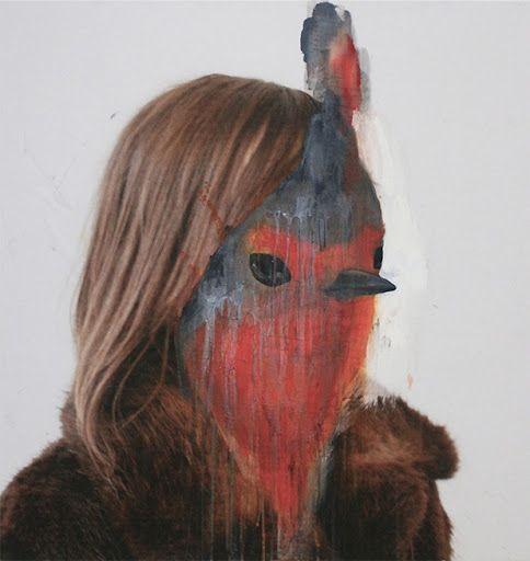 Half Human Half Animal Portraits by Charlotte Caron