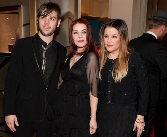 Lisa Marie Presley Daughter Danielle | ... Presley with son Navarone Garibaldi and daughter Lisa Marie Presley