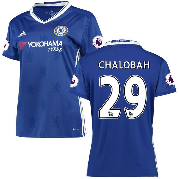 Nathaniel Chalobah Chelsea Women's adidas 2016/17 Home Replica Jersey - Blue - $86.24