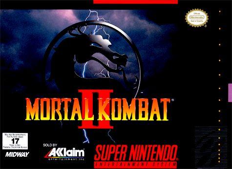 mortal kombat 2 super nintendo - Google Search