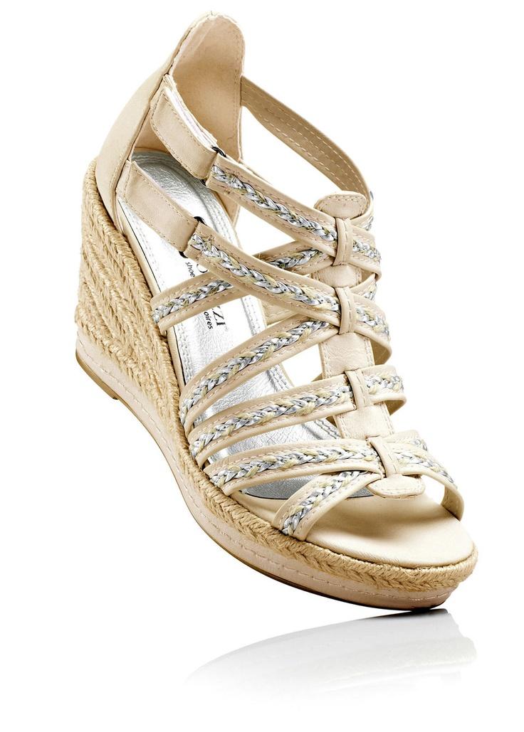 Beige sandals - Shoes & Accessories - Marco Tozzi - bonprix.de