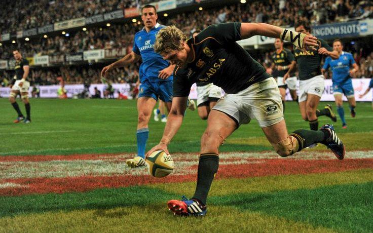 Jean de Villiers 2013 Springbokke vs Italy