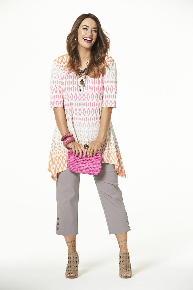 Sunset Tunic  #mysize #plussize #fashion #plussizefashion #summer #newarrivals #outfit