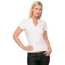 Ladies POLO with V Neck