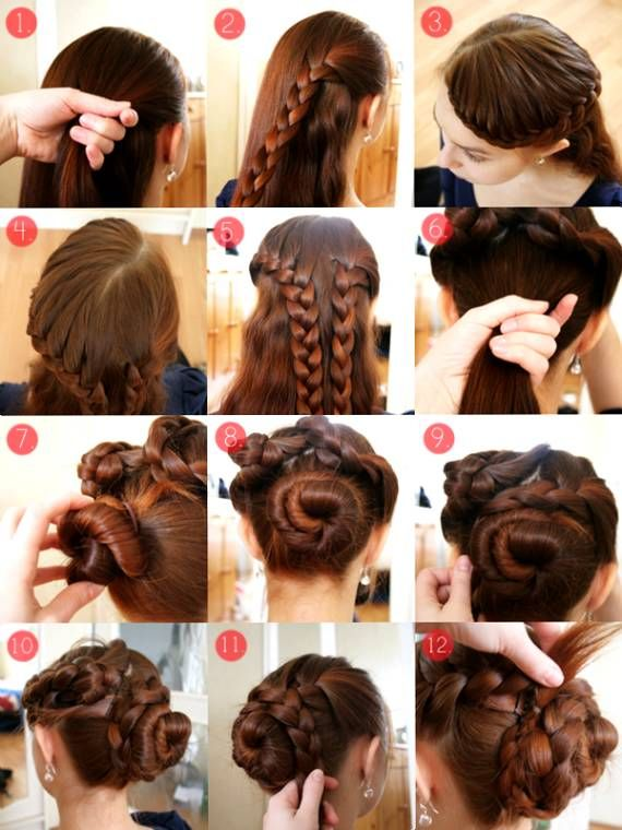 Superb 1000 Images About Hairstyles On Pinterest High Bun Hairstyles Short Hairstyles For Black Women Fulllsitofus
