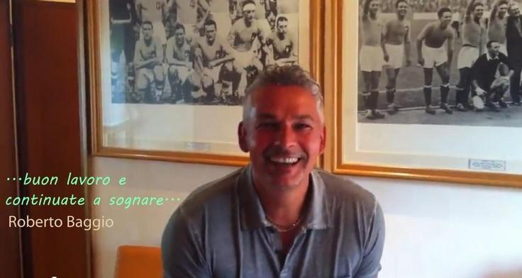 L'avventura ha inizio. Roberto Baggio saluta la PSS