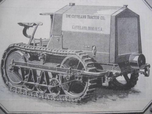 1917 Cleveland Tractor Ad Clevland Ohio | eBay