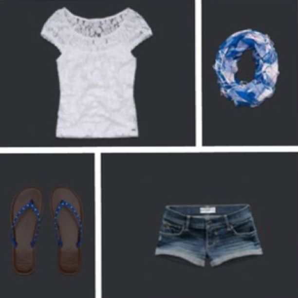 Abercrombie kids. This would be a cute spring outfit!:)