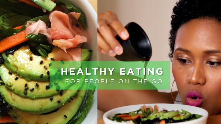 Veggie Sushi Bowl - Pesto Pasta Bowl || 3 Healthy Meals in 5 Minutes (Vegan/Vegetarian Friendly)