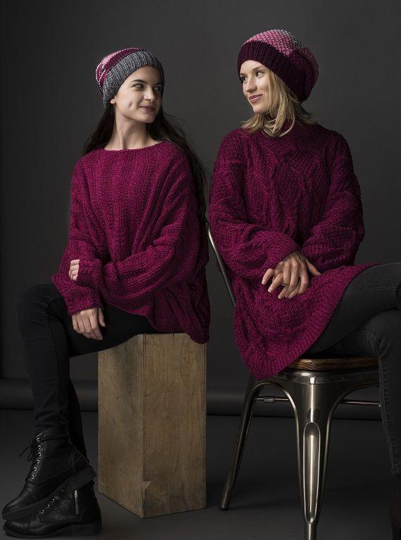 HANIA by Anya Cole Barry Sweater & Haku Sweater Fall/Winter 2015