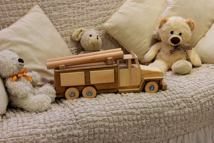 Wooden toy, fire truck, Montessori, natural wood toy, toy for boy, Educational toy, children's toy, Fire engine model, Organic toy, toy for kids, Birthday gift idea
